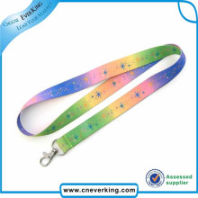 Polyester Heat Transfer Lanyard with Metal Hook