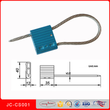Alu-Legierung einstellbare Sicherheitskabel Seal Jccs001