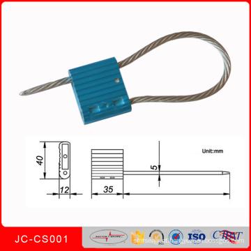 Selo elástico alto Jccs001 do cabo do recipiente da liga de alumínio de Stength