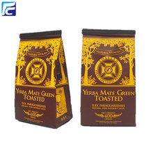High Quality for Coffee Bag With Valve Custom printed aluminum foil wholesale tea packaging bag supply to France Importers