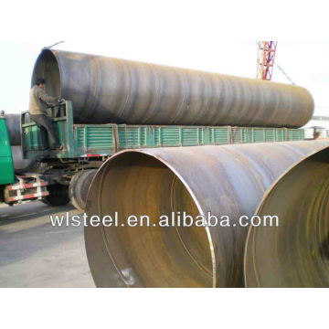 api 5l X42X52X60X70 ssaw corrugated steel pipe price