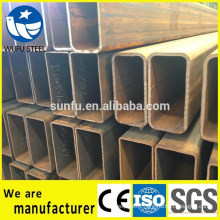 Best selling carbon RHS rectangular Q345B steel pipe specs