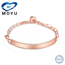 simple style 14k Yellow Gold Bangle Bracelet