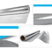 Pano revestido da fibra de vidro da isolação térmica da folha de alumínio