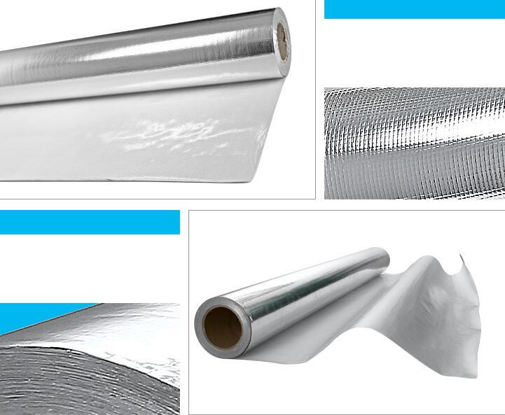 Aluminum thermal reflective cloth
