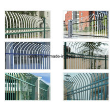 Wrought Iron Garden Fences with Gate