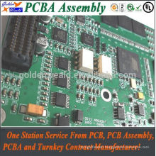 PCB mount jack socket and bga PCBA manufacture and smt PCB assembly manufactuer PCB assemble