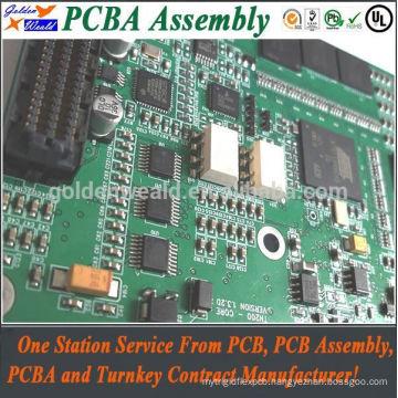 PCB mount jack socket and bga PCBA manufacture and smt PCB assembly manufactuer PCB assemble