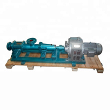G series screw pump for high viscosity liquid