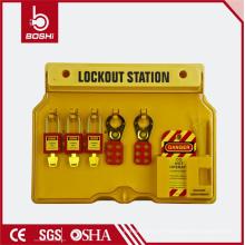 10-20 Serrures Station de verrouillage de sécurité en plastique