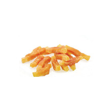 Hot sale for Air-dry Pet Snacks Sweet Potato & Chicken Wrap Dog Treats export to Congo Exporter
