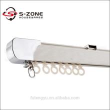Einstellbare runde Vorhangschiene mit schweren Wandhalterungen
