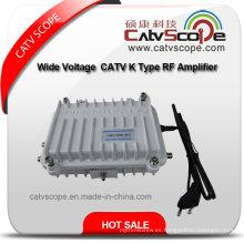 Amplio voltaje 110-270V CATV K Tipo Amplificador RF / Amplificador RF