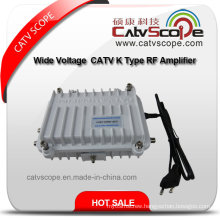 Wide Voltage 110-270V CATV K Type RF Amplifier/RF Booster