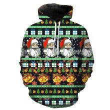 Festival Dress Chirstmas Fashion Men′ S Customized Hoodies Sweatshirts