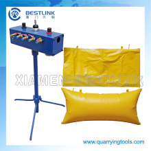 China Manufacturer granite Block Air Pushing Bag