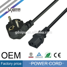 SIPU Similar Products Contact Supplier Chat Now! 1.2m EU 3 Prong Plug Ac Power Cord for Ac Adapter Laptop Notebook