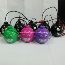 Promocional Mini historieta bomba forma Bluetooth altavoz
