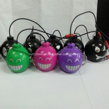 Desenhos animados Mini promocionais bomba forma alto-falante Bluetooth