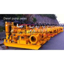 Tpow Horizontal Split Case Zentrifugalpumpe mit Dieselmotor