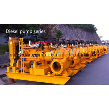 Tpow Horizontal Split Case Centrifugal Pump with Diesel Engine