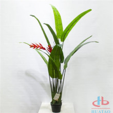 Artificiell Heliconia Fower Potted