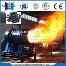 Control del PLC y los quemadores de carbón de encendido automático