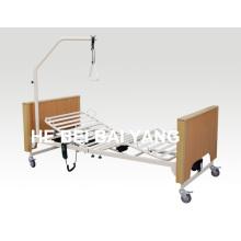 (A-24) Cama de hospital eléctrica de tres funciones