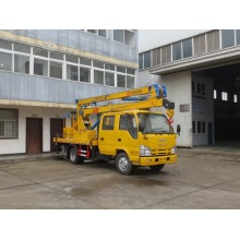ISUZU used aerial 4x4 boom trucks for sale