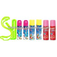 Schneespray farbiger Farbband-Spray-Schnee vier Farben 250ml