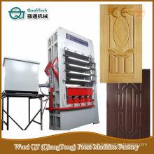 Máquina de laminado de porta de superfície de madeira de 5 camadas