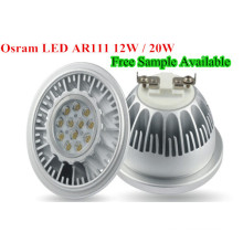 Dimmable LED L15W COB Lumière LED AR111 LED Lampe