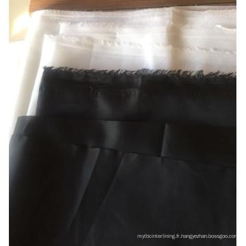 100% polyester 170t 190 t 210 t taffetas poly doublure en tissu