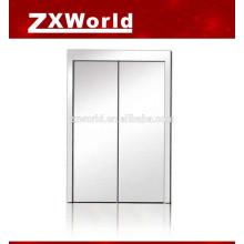 Elevator landing door panel, elevator car door panel
