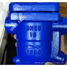 Trampa de vapor de flotador de bola libre (CS11)