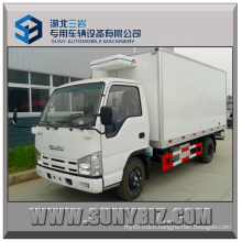 2tons Isuzu 100p 4X2 Mini Refrigerated Van Truck