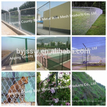 5 Feet Chain Link Fence / Galvanized Chain Link Fence For Sale