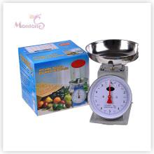 Échelle de cuisine de vente chaude de 2kg avec le plateau (21.8 * 21 * 25 cm)