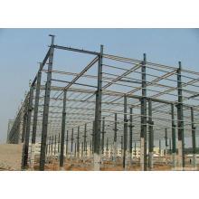 2016 nova estrutura de aço pré-fabricada para oficina