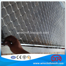 Animal Enclosure Stainless Steel Wire Rope Mesh