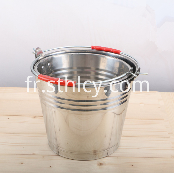 Stainless Steel Soup Bucket456lm