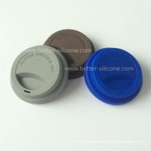 Dauerhafte Silikon-Plastikschalen-Deckel für das Trinken