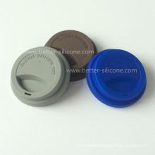 Прочный силиконовый пластиковых стаканчиков крышками для питья