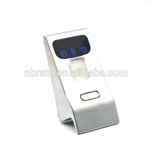 Bajo voltaje de alarma de acceso biológico huella digital cerradura de seguridad electrónica gabinete de bloqueo