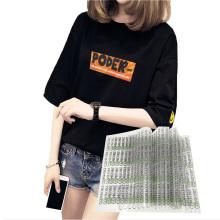 Best quality custom fabric plastisol heat transfers for  t shirts