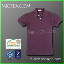 cotton color yarn polo OEM (OEKO-TEX,ISO9001,SGS Certification)