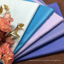 60s Tencel Look Baumwollgefärbtes Gewebe für Kleidungsstück
