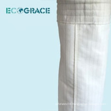 1/3 Twill weaving fiberglass dust collection filter sleeve