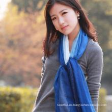 Moda seda del 30% y 70% modales sumergidos mantón morir (12-BR030820-1.9)