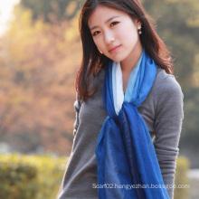 Fashion 30%Silk & 70%Modal Dipped Dying Shawl (12-BR030820-1.9)